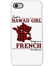 Just A Hawaii Girl In French Phone Case thumbnail