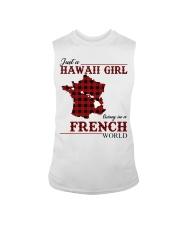 Just A Hawaii Girl In French Sleeveless Tee thumbnail