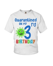 Quarantined On 3nd My Birthday Youth T-Shirt tile