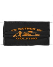 Cool i'd rather be golfing gift for golf Mask tile