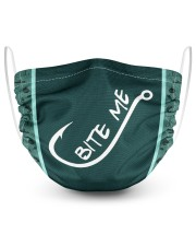 Bite Me 2 Layer Face Mask - Single front