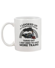 Train I looked Up My Symptoms online  Mug back