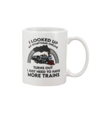 Train I looked Up My Symptoms online  Mug front
