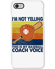 I'm Not Yelling This Is My Baseball Coach Voice Phone Case tile