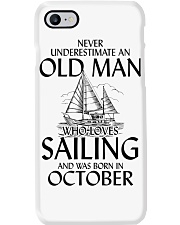 Never Underestimate Old Man Loves Sailing October Phone Case thumbnail