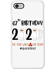 67th Birthday 67 Years Old Phone Case thumbnail