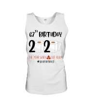 67th Birthday 67 Years Old Unisex Tank tile