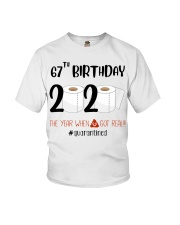 67th Birthday 67 Years Old Youth T-Shirt thumbnail