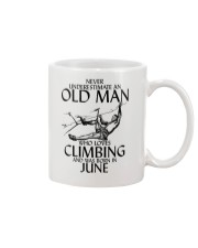 Never Underestimate Old Man Climbing  June Mug thumbnail