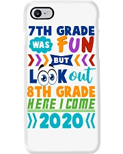 7th Grade Fun Look Out  8th Grade Here I Come Phone Case thumbnail