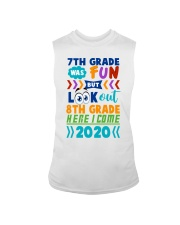 7th Grade Fun Look Out  8th Grade Here I Come Sleeveless Tee thumbnail