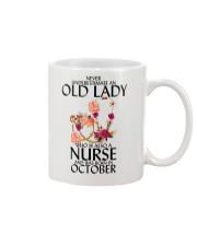 Never Underestimate Old Lady Nurse October Mug thumbnail