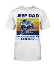 jeep Dad Like A Normal Dad Only Cooler Classic T-Shirt tile