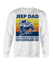 jeep Dad Like A Normal Dad Only Cooler Crewneck Sweatshirt thumbnail
