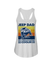 jeep Dad Like A Normal Dad Only Cooler Ladies Flowy Tank thumbnail