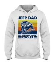 jeep Dad Like A Normal Dad Only Cooler Hooded Sweatshirt thumbnail