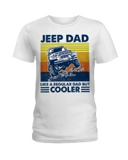 jeep Dad Like A Normal Dad Only Cooler Ladies T-Shirt thumbnail