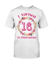 16th Birthday 16 Years Old Classic T-Shirt front