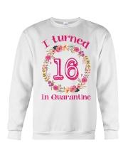 16th Birthday 16 Years Old Crewneck Sweatshirt thumbnail