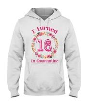 16th Birthday 16 Years Old Hooded Sweatshirt thumbnail