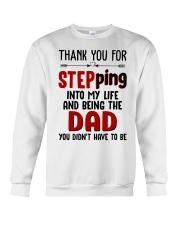 Thank You For Stepping Into My Life Crewneck Sweatshirt thumbnail
