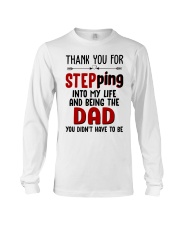 Thank You For Stepping Into My Life Long Sleeve Tee thumbnail