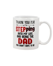 Thank You For Stepping Into My Life Mug front