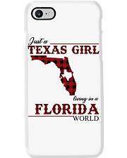 Just A Texas Girl In Florida World Phone Case thumbnail