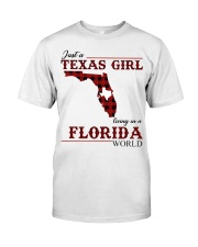 Just A Texas Girl In Florida World Classic T-Shirt front
