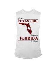 Just A Texas Girl In Florida World Sleeveless Tee thumbnail