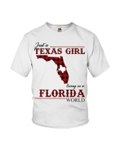Just A Texas Girl In Florida World Youth T-Shirt thumbnail