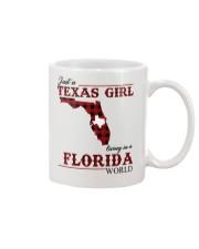 Just A Texas Girl In Florida World Mug thumbnail