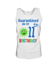 Quarantined On 11th My Birthday 11 years old Unisex Tank thumbnail