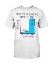 The Louder The Snore The Cooler The Dad Classic T-Shirt thumbnail