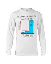 The Louder The Snore The Cooler The Dad Long Sleeve Tee thumbnail