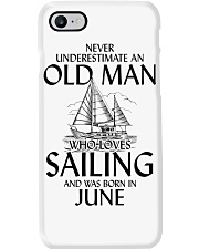 Never UnderestimateOld Man Loves Sailing  June Phone Case thumbnail