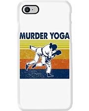 Jiu Jitsu Murder Yoga Phone Case thumbnail