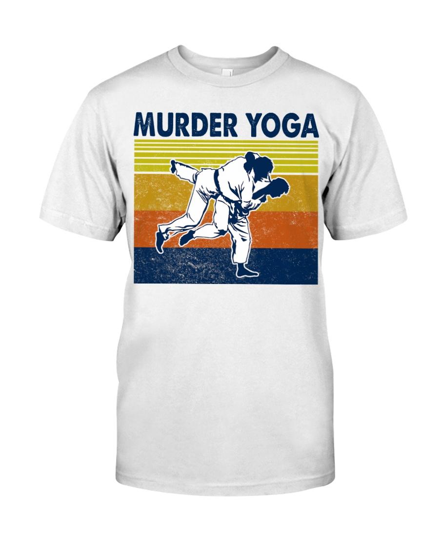 Jiu Jitsu Murder Yoga Classic T-Shirt