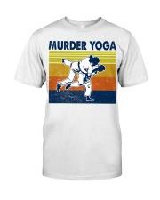Jiu Jitsu Murder Yoga Classic T-Shirt front