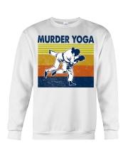 Jiu Jitsu Murder Yoga Crewneck Sweatshirt tile