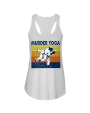 Jiu Jitsu Murder Yoga Ladies Flowy Tank tile