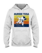 Jiu Jitsu Murder Yoga Hooded Sweatshirt tile