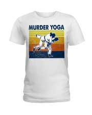 Jiu Jitsu Murder Yoga Ladies T-Shirt tile