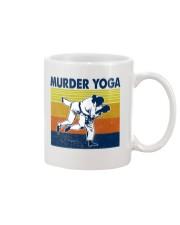 Jiu Jitsu Murder Yoga Mug tile