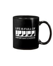 Golf Life Is Full Of Important Choices Mug thumbnail