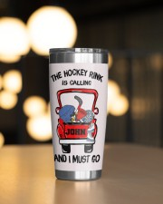 The hockey rink -Personalized Christmas Gift 20oz Tumbler aos-20oz-tumbler-lifestyle-front-04