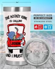 The hockey rink -Personalized Christmas Gift 20oz Tumbler aos-20oz-tumbler-lifestyle-front-47