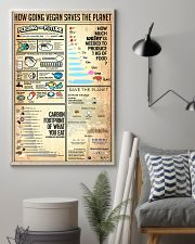 How Going Vegan Saves The Planet 24x36 Poster lifestyle-poster-1