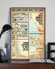 How Going Vegan Saves The Planet 24x36 Poster lifestyle-poster-2