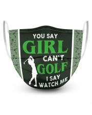 You Say Girl Can't Golf I Say Watch Me Masks tile